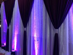 Elegant Events backdrop design