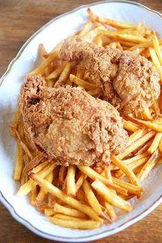 Recipe for Buttermilk Fried Chicken