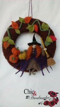 Felted Wool, Wool Felt, December, Christmas Ornaments, Halloween, Holiday Decor, Handmade, Home Decor, Wool Felting