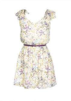 Floral dress  |Pinned from PinTo for iPad|