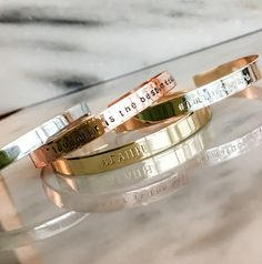 Custom Bracelet Personalized Hand Stamped Bracelet Custom Cuff Your Name Quote Fireman Shield EMS Custom Stamped Bracelet Police Metal Bracelets, Cuff Bracelets, Silver Bracelets, Push Gifts, Hand Gestempelt, Personalized Bracelets, Custom Metal, Leather Cuffs, Cartier Love Bracelet