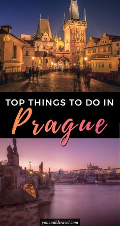 The top 30 things to do in Prague - With so many things to do in Prague it's easy to see why this is becoming a popular European capital for those interested in culture, art, food and nightlife. We loved our trip to Prague and this is why we think you will love it too. Check out the best 30 things to do in Prague. #prague #city #guide