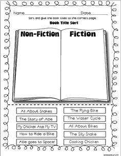 Fiction Non-Fiction sort