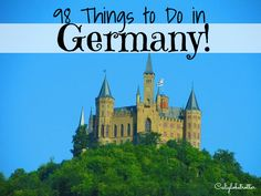 There is so much to see and do sometimes you don't know where to begin! Just a little list to get you started on some ideas of things you need to see, do and eat when you make a trip to Germa…