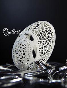 Quillart.pl - Ażurowa Pisanka, Openwork Pysanka, Osterei, huevo de Pascua, Egg Art - Sylwia Krasoń-Nowińska