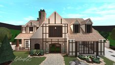 Two Story House Design, Tiny House Layout, Unique House Design, House Layouts, Home Building Tips, Home Building Design, Building A House, Modern Family House, Family House Plans