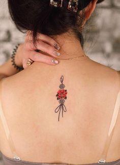 flower tattoo , back tattoo, floral tattoo ideas , tattoo design ,unique tattoo, woman tattoo, female tattoo, tattoo art , tattoo placement, ink tattoo , tattoo design for woman , meaningful tattoo, tattoo ideas, Summer tattoo design , girl tattoo Flower Tattoo Back, Back Tattoo, Tattoo Designs For Women, Tattoos For Women, Body Tattoos, Girl Tattoos, Henna, Summer Tattoo, Meaningful Tattoos