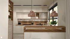 Wystrój wnętrz - Kuchnia - styl Nowoczesny. Projekty i aranżacje najlepszych designerów. Prawdziwe inspiracje dla każdego, dla kogo liczy się dobry gust i nieprzeciętne rozwiązania w nowoczesnym projektowaniu i dekorowaniu wnętrz. Obejrzyj zdjęcia! - strona: 7