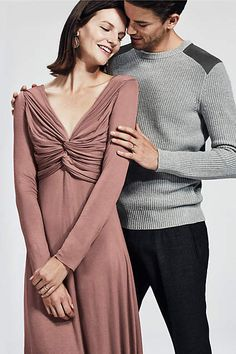 Gathered Jersey Dress - anthropologie.com