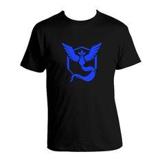 Pokemon Go T-shirt Team Mystic / Team Valor / Team Instinct