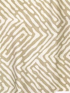 Robert Allen tribal abstract tan print on Crypton Fabric. Perfect for furniture upholstery, pillows, window treatments or dog beds. Wall Paint Patterns, Painting Patterns, Fabric Painting, Print Patterns, Pattern Print, Crypton Fabric, Robert Allen Fabric, Green Bedding, Draped Fabric