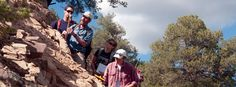 FLC Geology students dominate awards for undergraduate research