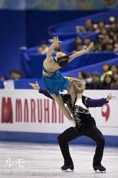 アイスダンス上位二組の夢の世界 - Lumo Meryl Davis and Charlie white Grand Prix final victory pose 2013