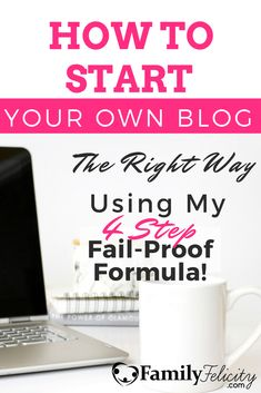 Starting your own blog is more than putting up your website and writing blog posts. If you want success you must follow a proven plan. Click the image to learn my fail-proof 4 step plan.
