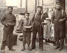 Fishermen 1880's   Victorian photos - Cobles in Art & Antiques