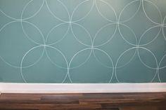 Easy DIY Wall Stenci