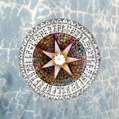 The Ana Bekoach Mandala by Eitan Kedmy. A Kabbalah Wall Amulet and Special Blessing from Tradition Scripts.