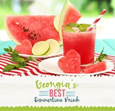 Enter your best watermelon drink recipe to Georgia Watermelon Association's recipe contest and you could win a Ninja Mega Kitchen System in the color of your choice! ‪#‎gasummertimedrink‬
