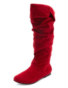 red boots ;; love