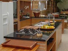 Resultado de imagem para fotos das cozinhas gourmet dos chefs famosos