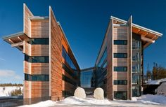 Bohlin Cywinski Jackson | Copperhill Mountain Lodge