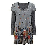 Joe Browns Funky Knitted Tunic - Large Size Clothing and Maternity Wear - www.plussizedglamour.co.uk