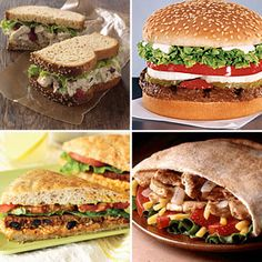 Best Fast Food Burgers and Sandwiches   CookingLight.com --These grab-and-go bites are the ultimate convenience foods, but choose wisely to avoid a diet downfall.