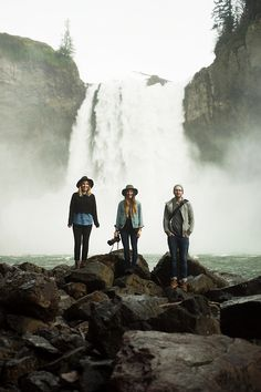 erickimberlinbowley:  Northwest waterfalls with Kaitlin, Bethany...