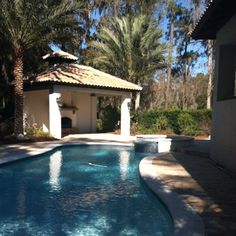 Pool- hot tub- outside kitchen- outdoor fireplace!!!
