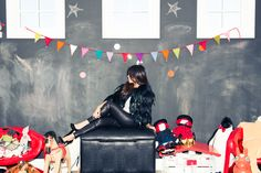 We LOVE @Kourtney Kardashian in our Leather Front Zip Legging on @The Coveteur!!!
