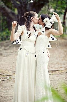 Equalli | 14 Pinterest Boards That'll Inspire Your Perfect Lesbian Wedding