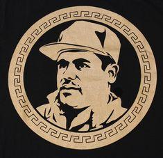tees geek El Chapo Guzman Currency Men's T-Shirt Cupid Tattoo, Sargento, Lowrider Art, Close Up, Smoke Photography, Tattoo Drawings, Tattoos, Mexico Art, Pablo Escobar