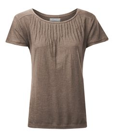 Luxuriously soft organic cotton jersey Top -   Front pleated! #fashion #ethical #ethicallymade #ethicalfashion #styling #style #pleated #casualstyle #organic #cotton #hemp
