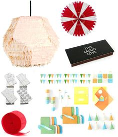 Best sources for Party Supplies via Apartment Therapy