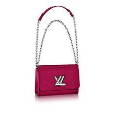 Louis Vuitton Epi Leather Twist MM  #handbags #louisvuitton