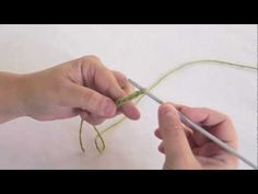 One and Two Company - Tutorials - Double Crochet (dc)