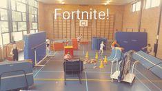 Fortnite in de gymles! Fortnite is hét spel van het jaar. Iedereen speelt het, alleen wel achter de computer. Daarom, speel Fortnite in de gymles! Pe Games, Games For Kids, Diy For Kids, Activities For Kids, Too Cool For School, Middle School, Computer Teacher, Gaming Computer, Pe Lessons