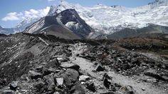 En route to Island Peak, Nepal