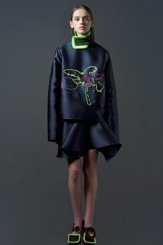 Minki Cheng AW15 London Fashion Week LFW - Deux Hommes