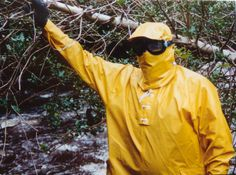 Its my oldest helly hansen, yellow anorak and the hood got 'a maskflap' to protect mouth, chin and nose. Heavy Rubber, Rain Gear, Helly Hansen, Girls In Love, Girls Wear, Streetwear, Masks, Raincoat, How To Make