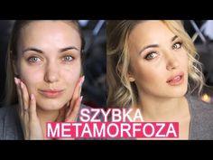 Moja metamorfoza w 5 min. Makijaż + modny kuc. - YouTube