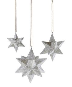 Love this Dimensional Celestial Ornament Set on #zulily! #zulilyfinds