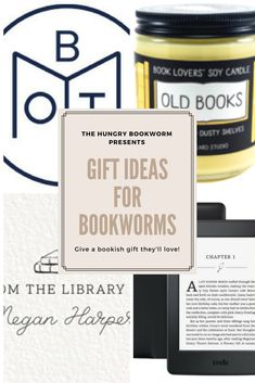Gift ideas for the bibliophile in your life! Readers everywhere will love this list of bookish gifts. Book Club Snacks, Book Subscription, Gifts For Readers, Happy Reading, Baking Ingredients, Bibliophile, Book Recommendations, Book Lists, Soy Candles