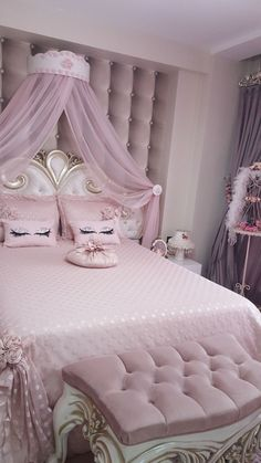 1479 Best Pink Bedroom Decor images in 2019 | Rose bedroom, Bedroom ...