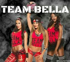 I love the Bella Twins❤️❤️ and Alisha fox❤️ and the bella twins r my idol and I would cry if I met them in person and I am on TEAM BELLA FOR LIFE #TEAM BELLA ALL THE WAY ❤️❤️❤️❤️❤️