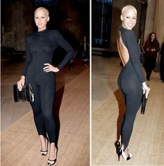 Amber Rose's awesome bodysuit. Love!