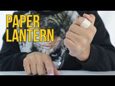 How To Make A Homemade Paper Lantern - SCIENCE. Youve never seen a lantern so simple and useful. Pick a couple of batteries and make this paper lantern that will light with just one LED!