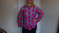 How to Crochet a Sweater using Motifs Part 1
