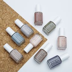 strip down and bare it all in the wildest of nude nail colors for spring. untamed, fierce and sexy, these disarming shades will totally charm the pants off one and all. get ready to expose your nails in our latest collection of essie wild nudes polish -- they look amazing on all skintones.
