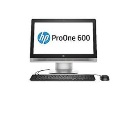 """Hewlett Packard HP ProOne 600 G2 P5V64UT ProOne 600 G2 PC comes with a 21.5"""" HD LED anti-glare display."""